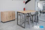 Packton, serveis integrals per a l'oficina, mobla la nova nau de Casals Ventilació